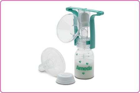 Ameda Single Manual Breast Pump